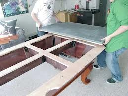 Pool table moves in Oshkosh Wisconsin