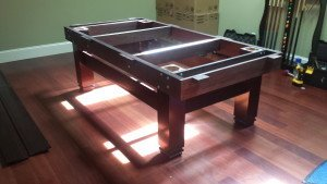 Correctly performing pool table installations, Oshkosh Wisconsin