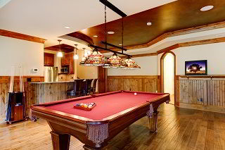 Oshkosh pool table room size image 1